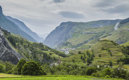 Bad Weather in Alps Royalty Free Stock Images