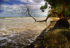 Bad weather around Koh Chang Royalty Free Stock Photography