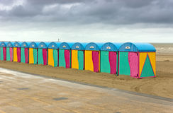 Bad weather on the beach Royalty Free Stock Photography