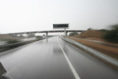 Bad weather conditions Stock Photo