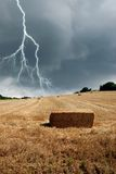 Bad weather in countryside Stock Photography