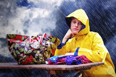 Bad weather day Royalty Free Stock Photo