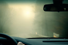 Bad Weather Driving Stock Photos