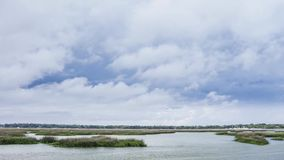 Bad weather over Beaufort Royalty Free Stock Photography