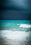 Bad weather seascape Royalty Free Stock Image