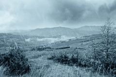 Bad weather in the valley Royalty Free Stock Photography