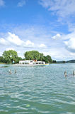 Bad Wiessee, Tegernsee, Baviera superiore, Germania Fotografia Stock