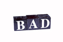 Bad words Stock Images
