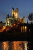 Bada abbeyen i staden av badet - England Royaltyfria Bilder