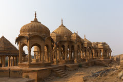 Bada Bagh in Jaisalmer, de staat van Rajasthan, India Royalty-vrije Stock Fotografie