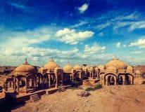 Bada Bagh, Jodhpur, Rajasthan, Indien arkivbild