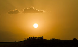 Bada Bagh kompleks w Jaisalmer, Rajasthan w India obraz royalty free