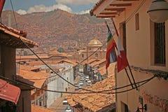 Bada peruvian ulicy Obrazy Royalty Free