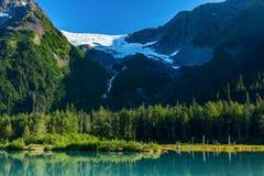 Badacza lodowiec Zdjęcia Royalty Free