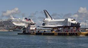 badacza statek orbitalny wahadłowa przestrzeń Zdjęcia Royalty Free