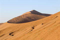 Badain Jaran沙漠 库存照片