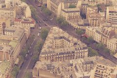 Badający widoki Paris wśród few dni Zdjęcie Royalty Free