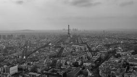 Badający widoki Paris wśród few dni Obraz Royalty Free