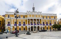 Badajoz Δημαρχείο στοκ φωτογραφίες