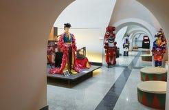 Badajoz Carnaval Museum Stock Afbeelding