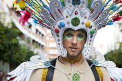 Badajoz Carnival 2016. Troupe parade Stock Image