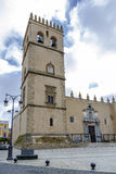 Badajoz Cathedral, San Juan Bautista, Spain Stock Photography