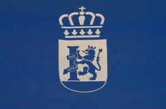 Badajoz city shield Royalty Free Stock Photo