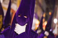 Badajoz, Spanien - 22. März 2016: Ostern-Woche Semana Sankt, Naz Stockbild