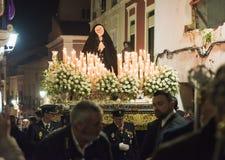 Badajoz, Spanien - 25. März 2016: Ostern-Woche Semana Sankt, Naz Stockfoto