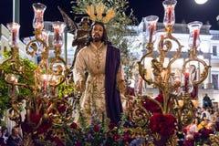 Badajoz Spanien måndag _ 10 Brödraskap 2017 och Brotherhoo Royaltyfri Foto