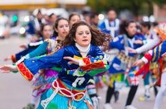 Badajoz, Spanien, Samstag februar 20 2017 Teilnehmer an colo Stockfoto