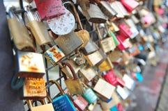 badaling τοίχος αγάπης κλειδωμάτων του Πεκίνου Κίνα μεγάλος Στοκ Εικόνες
