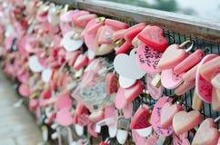 badaling стена влюбленности замка фарфора Пекин большая Стоковые Изображения