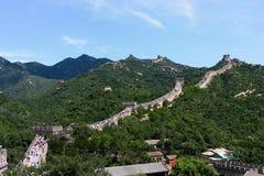 Badaling: de Grote muur Royalty-vrije Stock Foto's