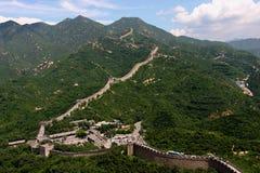 Badaling: de Grote muur Stock Fotografie