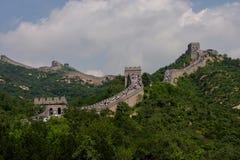 Badaling: die Chinesische Mauer Stockfotos