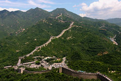 Badaling: the Great wall Stock Photography