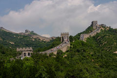 Badaling: the Great wall Stock Photos