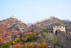 Badaling Great Wall. Great Wall at Badaling in Beijing stock photo