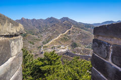 Badaling Great Wall of Beijing in China Stock Photography