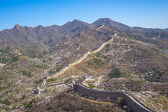 Badaling Great Wall of Beijing in China Stock Photo