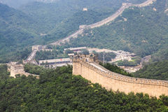 Badaling great wall,crossroad town Stock Photo