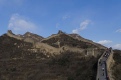 Badaling Great Wall in Yanqing County Beijing China built in 1504 during the Ming Dynasty 1015 metres above sea level Stock Photos