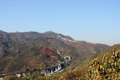 Badaling national forest park Stock Image