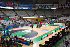 Badalona basketball stadium Stock Image