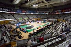 Badalona-Basketballstadion Stockfotografie