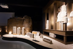 Badalona Roman Museum Stock Photo