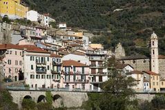 Badalucco. Ancient village of Italy Royalty Free Stock Photos