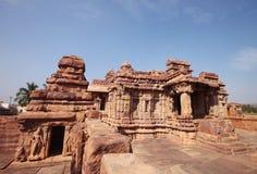 Badami świątynia, Unesco dziedzictwa miejsce Zdjęcia Royalty Free