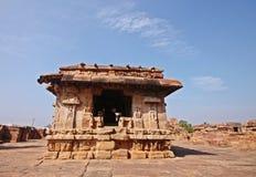 Badami świątynia, Unesco dziedzictwa miejsce Zdjęcia Stock